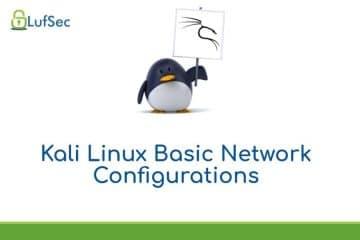 Kali Linux Basic Network Configuration Settings